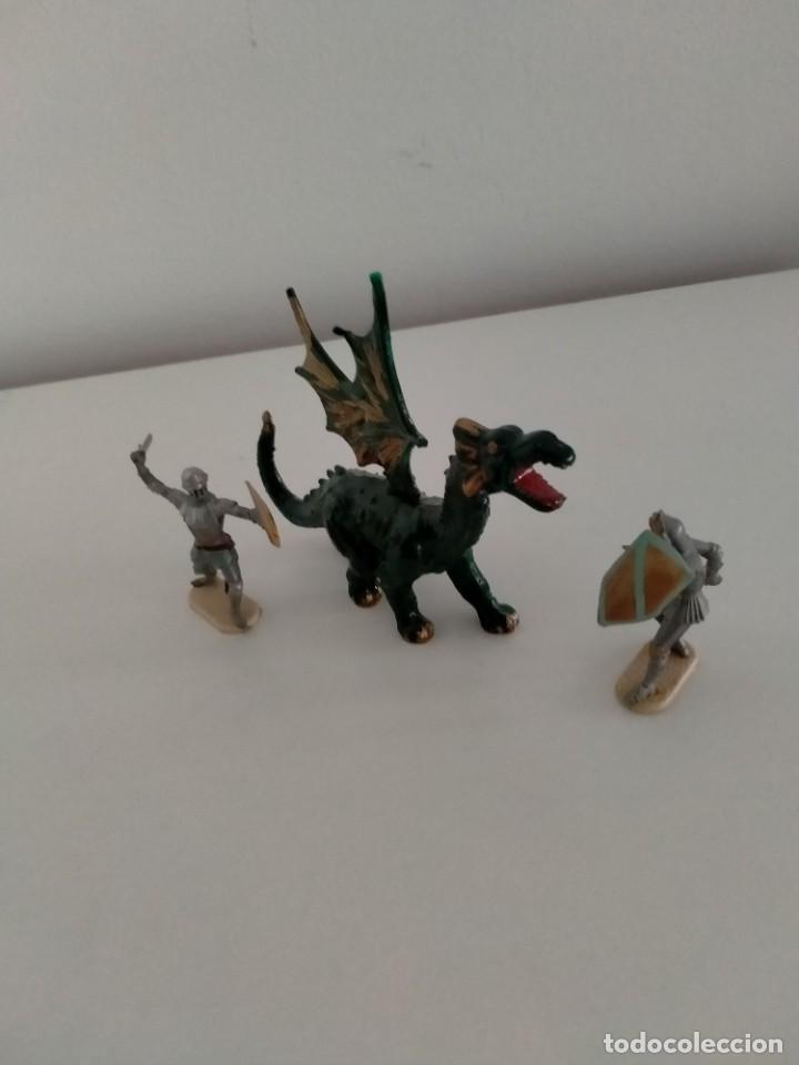 Juguetes antiguos Exin: Figuras Elastolin Historex para Exin Castillos - Foto 2 - 233118475