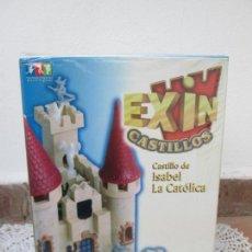 Juguetes antiguos Exin: EXIN CASTILLOS, CASTILLO DE ISABEL LA CATÓLICA. ABIERTO, PERO EN BUENAS CONDICIONES, COMPLETO.. Lote 235509715