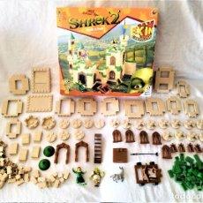 Juguetes antiguos Exin: EXIN CASTILLOS - CASTILLO DE SHREK Y FIONA - PDJ - POPULAR DE JUGUETES. Lote 235530765