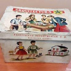 Juguetes antiguos Exin: ARQUITECTURA DE EXIN, MODELO C454. Lote 235890265