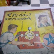 Juguetes antiguos Exin: EXIN ESTACION RADIOTELEGRAFICA EN CAJA. Lote 235968750