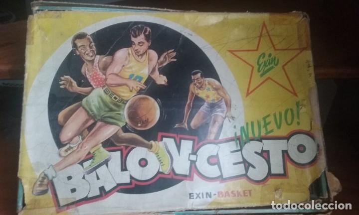 EXIN BASKET (Juguetes - Marcas Clásicas - Exin)