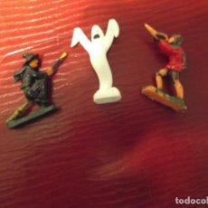 Juguetes antiguos Exin: LOTE 6-- 3 PERSONAJES AÑOS 70 EXIN CASTILLO. Lote 236398410