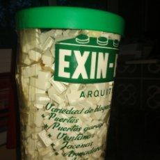 Brinquedos antigos Exin: EXIN BLOC REF 168 GRANDE 34X16 DIAM CON INSTRUCCIONES. Lote 236947270