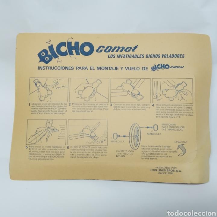 Juguetes antiguos Exin: Bicho Comet Pato Referencia 183 EXIN - nuevo a estrenar - Foto 2 - 237148775