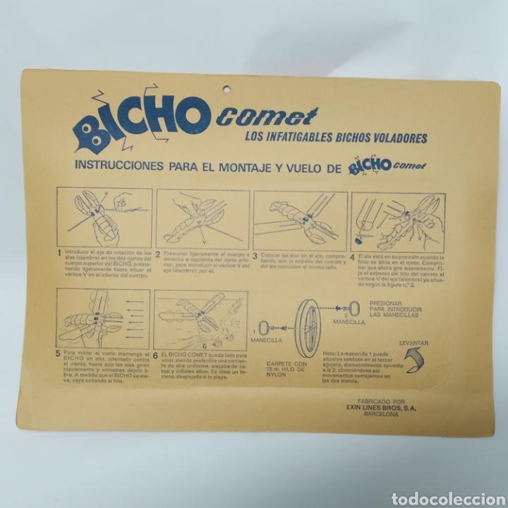 Juguetes antiguos Exin: Bicho Comet Langosta Referencia 181 EXIN - nuevo a estrenar - Foto 2 - 237148905