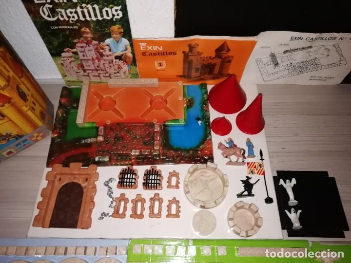 Juguetes antiguos Exin: EXIN CASTILLOS SERIE AZUL Nº 1 REF. 201 COMPLETO CON CAJA ORIGINAL, FIGURAS Y MANUAL AÑOS 70. PTOY - Foto 5 - 238267970