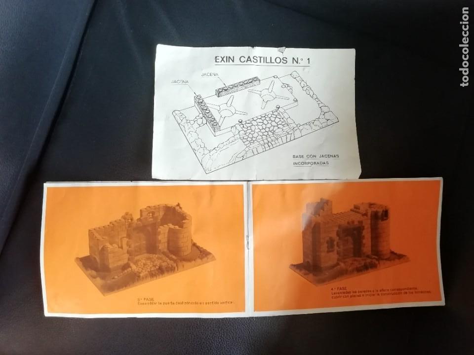 Juguetes antiguos Exin: EXIN CASTILLOS SERIE AZUL Nº 1 REF. 201 COMPLETO CON CAJA ORIGINAL, FIGURAS Y MANUAL AÑOS 70. PTOY - Foto 21 - 238267970