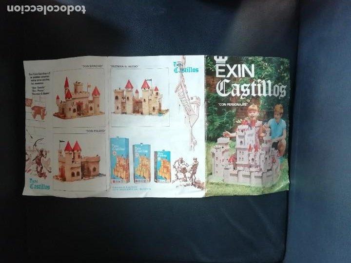 Juguetes antiguos Exin: EXIN CASTILLOS SERIE AZUL Nº 1 REF. 201 COMPLETO CON CAJA ORIGINAL, FIGURAS Y MANUAL AÑOS 70. PTOY - Foto 25 - 238267970