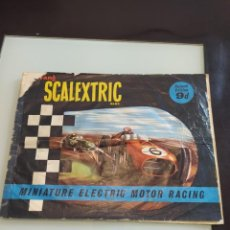 Juguetes antiguos Exin: SCALEXTRIC EXIN TRIANG CATÁLOGO INGLES. Lote 239375235