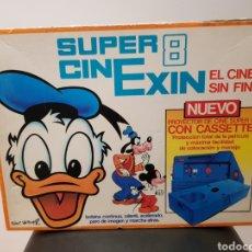 Brinquedos antigos Exin: SUPER CINEXIN 8. EXIN. FABRICADO EN ESPAÑA REF. 0801. Lote 239484635