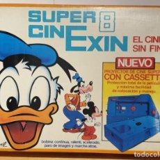 Brinquedos antigos Exin: SUPER CINE EXIN ANTIGUO EN BUEN ESTADO, CON 2 PELICULAS MIRAR BIEN LAS FOTOS NO ESTA PROBADO. Lote 240417000