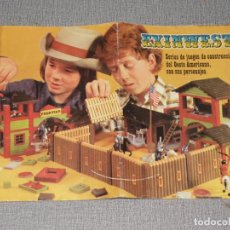 Juguetes antiguos Exin: CATALOGO EXINWEST AÑO 1978 EXIN - LINES BROS,SA. Lote 240738585