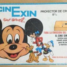 Juguetes antiguos Exin: CINE EXIN. PROYECTOR DE 8 M/M. FUNCIONANDO.. Lote 240911295