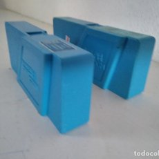 Brinquedos antigos Exin: LOTE DE 2 PELÍCULAS DE SUPERCINEXIN, DE MICKEY Y TOM Y JERRY, AZULES. Lote 241036610