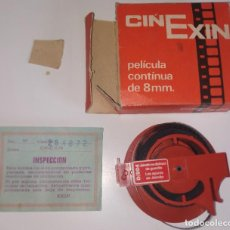Brinquedos antigos Exin: CINEXIN PELICULA 8 MM JAIMITO SE DISFRAZA DE GUARDIA / LOS APUROS DE JAIMITO. Lote 241225560