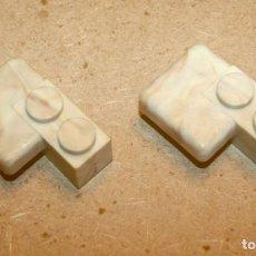 Brinquedos antigos Exin: OFERTA: 2 PIEZAS BLOQUES 2X1 CON LOSETA DE EXIN LINES BROS, ELB, PIEZAS CLÁSICAS DE EXIN CASTILLOS.. Lote 241230760