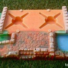 Brinquedos antigos Exin: OFERTA: BASE EXIN CASTILLOS SERIE AZUL.. Lote 241231640