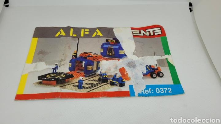 TENTE ALFA INSTRUCCIONES REF 0372. EXIN. (Juguetes - Marcas Clásicas - Exin)