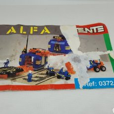 Juguetes antiguos Exin: TENTE ALFA INSTRUCCIONES REF 0372. EXIN.. Lote 241244120
