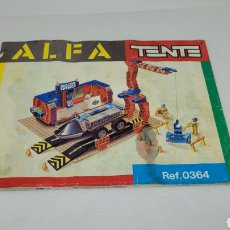 Juguetes antiguos Exin: TENTE ALFA INSTRUCCIONES REF 0364. EXIN.. Lote 241244450