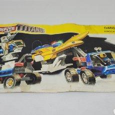 Brinquedos antigos Exin: TENTE TITANIUM KINGCAT. REF 0468. EXIN.. Lote 241245350