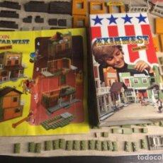 Brinquedos antigos Exin: EXINWEST GENERAL STORE - FOTOS DE TODAS LAS PIEZA CAJA E INSTRUCCIONES. Lote 241445145