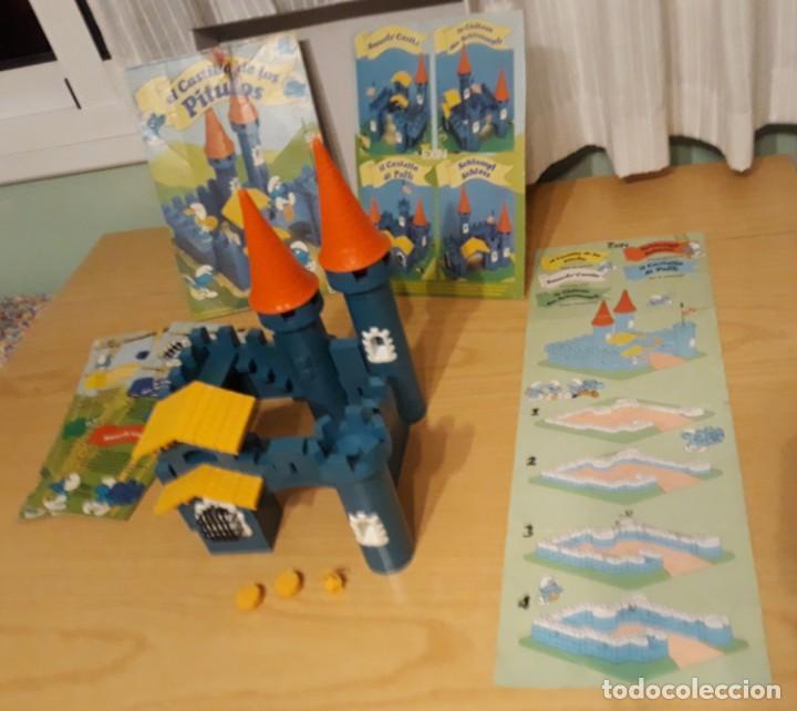 Juguetes antiguos Exin: exin construccion - el castillo de los pitufos - casi completo - ver fotos - año 1983 - Foto 4 - 32577416