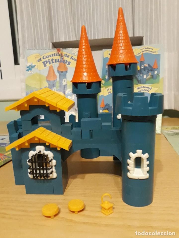 Juguetes antiguos Exin: exin construccion - el castillo de los pitufos - casi completo - ver fotos - año 1983 - Foto 8 - 32577416
