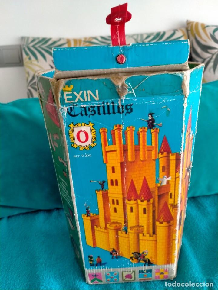 Juguetes antiguos Exin: Exin Castillos serie Azul caja 0 años 70 - Foto 2 - 241913145