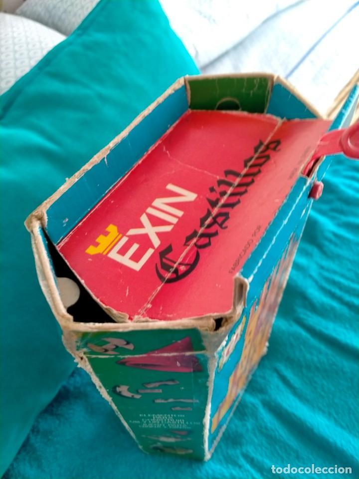Juguetes antiguos Exin: Exin Castillos serie Azul caja 0 años 70 - Foto 3 - 241913145