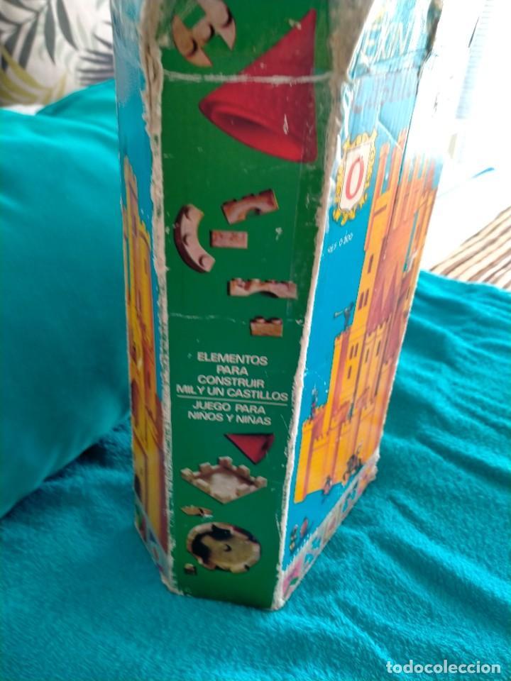 Juguetes antiguos Exin: Exin Castillos serie Azul caja 0 años 70 - Foto 4 - 241913145