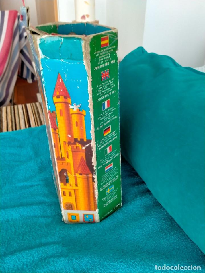 Juguetes antiguos Exin: Exin Castillos serie Azul caja 0 años 70 - Foto 5 - 241913145