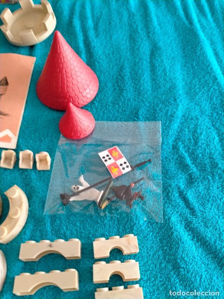 Juguetes antiguos Exin: Exin Castillos serie Azul caja 0 años 70 - Foto 6 - 241913145