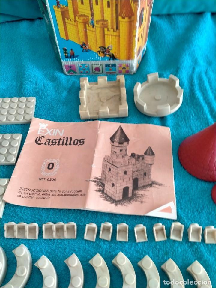 Juguetes antiguos Exin: Exin Castillos serie Azul caja 0 años 70 - Foto 7 - 241913145