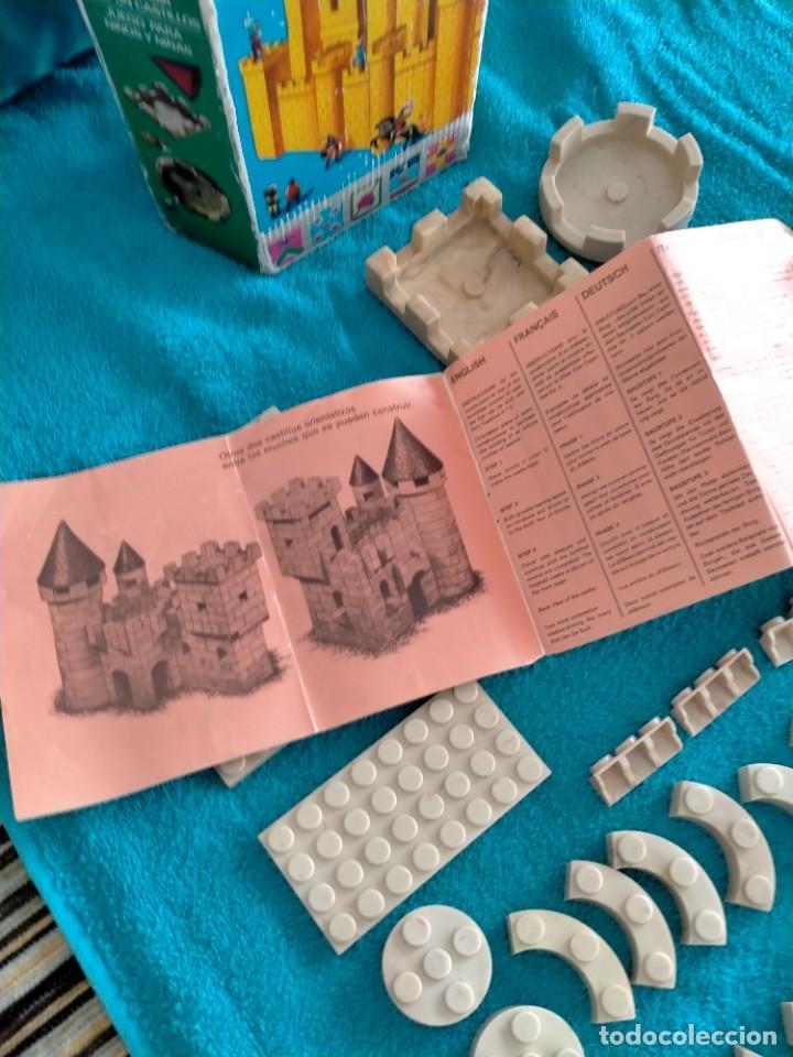 Juguetes antiguos Exin: Exin Castillos serie Azul caja 0 años 70 - Foto 8 - 241913145