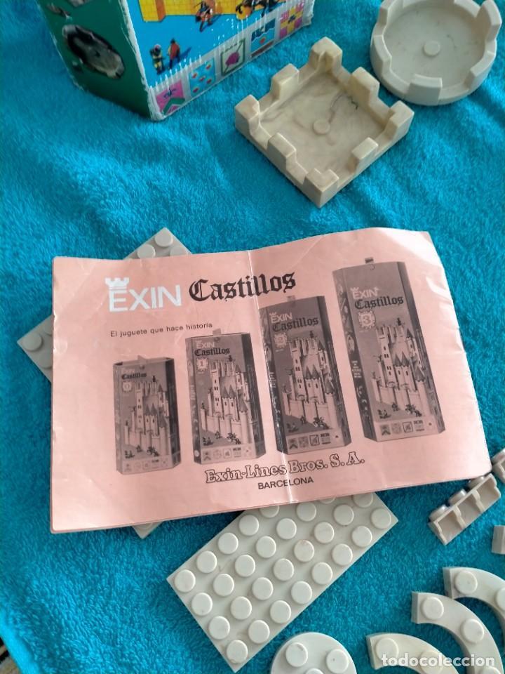 Juguetes antiguos Exin: Exin Castillos serie Azul caja 0 años 70 - Foto 9 - 241913145