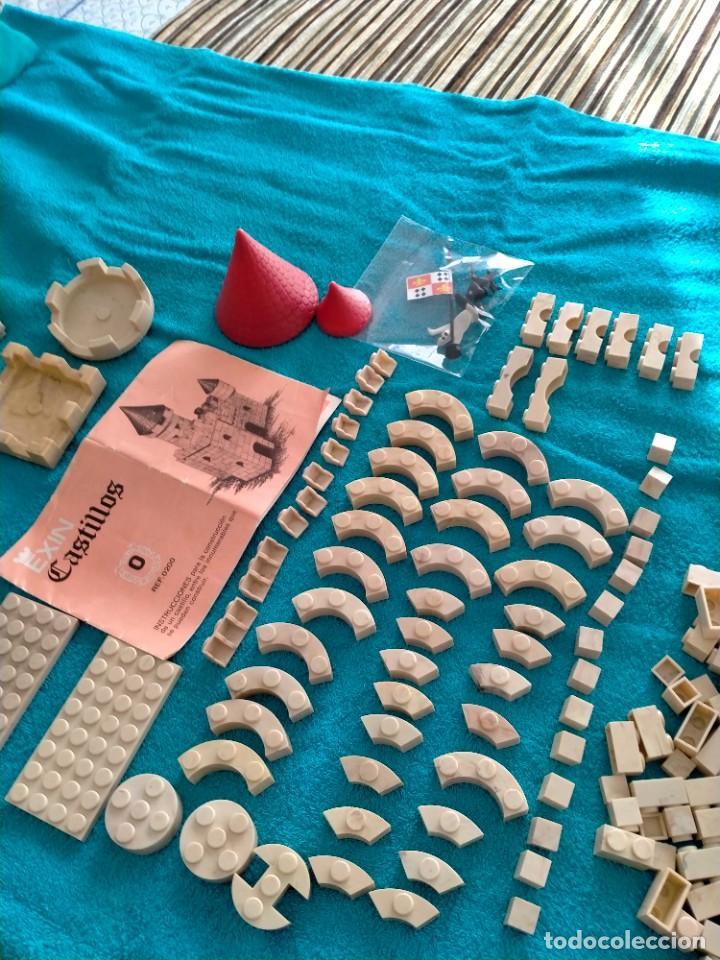 Juguetes antiguos Exin: Exin Castillos serie Azul caja 0 años 70 - Foto 10 - 241913145