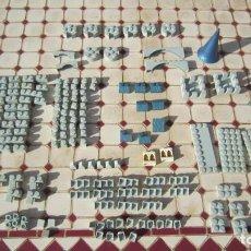 Brinquedos antigos Exin: LOTE DE 199 PIEZAS DE EXIN CASTILLOS SERIE GOLDEN ORIGINAL EXIN.. Lote 241932225