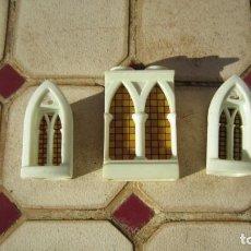 Brinquedos antigos Exin: VENTANAS EXIN CASTILLOS SERIE GOLDEN.. Lote 241938040