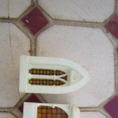 Brinquedos antigos Exin: VENTANAS EXIN CASTILLOS SERIE GOLDEN.. Lote 241938325
