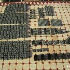 Brinquedos antigos Exin: LOTE DE 474 PIEZAS EXIN CASTILLOS DE POPULAR DEL JUGUETE. Lote 241940605