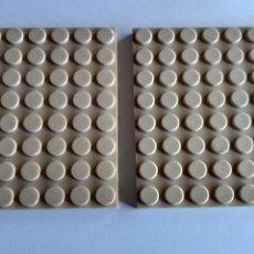 Juguetes antiguos Exin: CASTILLOS PLACA 8 X 8 , TAL CUAL FOTOS. Lote 243172260