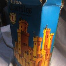 Brinquedos antigos Exin: EXIN CASTILLOS SERIA AZUL NUMERO UNO EN CAJA ORIGINAL, LO QUE SE VE EN LAS FOTOS, CAJA DETERIORADA. Lote 243683295