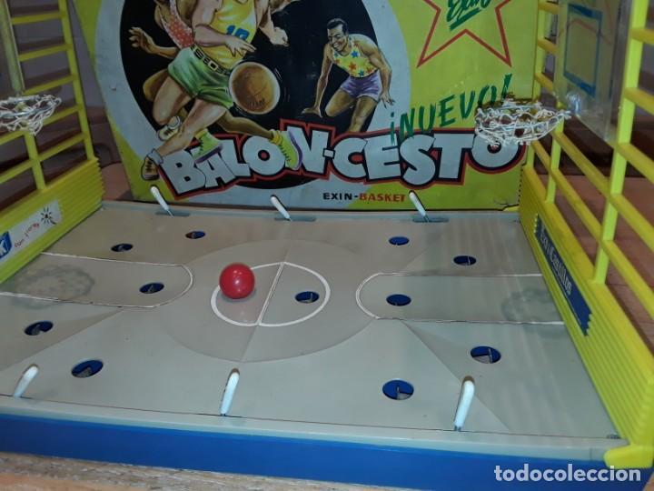 Juguetes antiguos Exin: Exin basket, baloncesto. - Foto 7 - 244469830