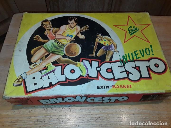 Juguetes antiguos Exin: Exin basket, baloncesto. - Foto 15 - 244469830