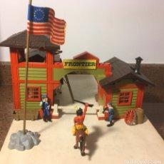 Brinquedos antigos Exin: EXIN WEST PUESTO FRONTERIZO. Lote 245109990