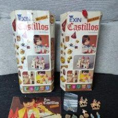 Juguetes antiguos Exin: DOS EXIN CASTILLOS GRAN ALCÁZAR XI. Lote 245592050