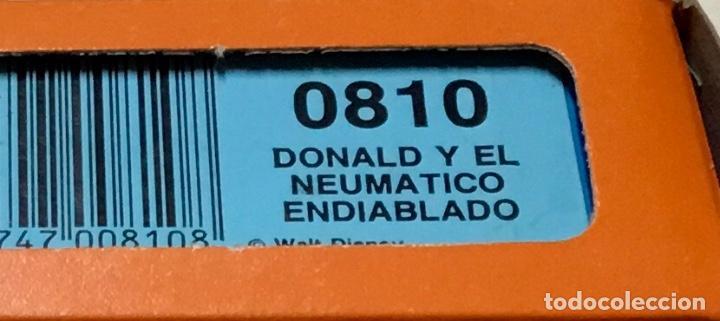 PELÍCULA SÚPER CINEXÍN 8 CASSETTE DONALD Y EL NEUMÁTICO ENDIABLADO 0810 EN CAJA ¡NUEVA! (Juguetes - Marcas Clásicas - Exin)