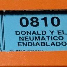 Juguetes antiguos Exin: PELÍCULA SÚPER CINEXÍN 8 CASSETTE DONALD Y EL NEUMÁTICO ENDIABLADO 0810 EN CAJA ¡NUEVA!. Lote 246801625